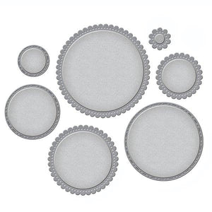Spellbinders Nestabilities - Fancy Edged Circles