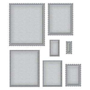 Spellbinders Nestabilities - Fancy Edged Rectangles