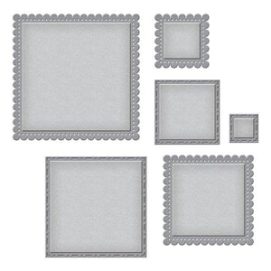 Spellbinders Nestabilities - Fancy Edged Squares