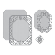 Spellbinders Becca Feeken Vintage Treasures - Cannetille Rectangle