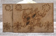 Phill Martin Sentimentally Yours MDF Sentiment Adornment - To You Both