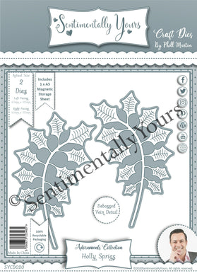 Phill Martin Sentimentally Yours Adornments Collection : Holly Sprigs