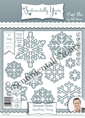 Phill Martin Sentimentally Yours Adornments Collection : Snowflake Flurry