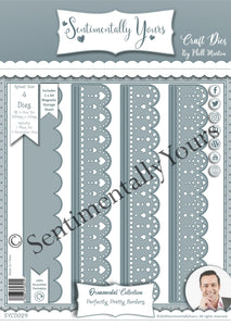 Phill Martin Sentimentally Yours Perfectly Pretty Border Die Set