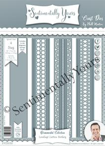 Phill Martin Sentimentally Yours Loveliest Lattice Border Die Set