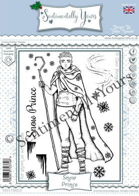 Trudie Howard Sentimentally Yours A6 Stamp Set - Snow Prince
