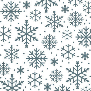 Phill Martin Sentimentally Yours 8 x 8 Embossing Folder - Snowflake Splendour