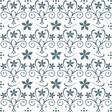 Phill Martin Sentimentally Yours 8 x 8 Embossing Folder - Poinsettia Flourish