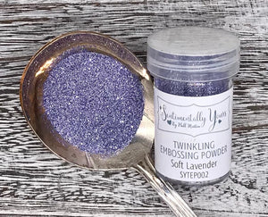 Sentimentally Yours Twinkling Embossing Powder - Soft Lavender