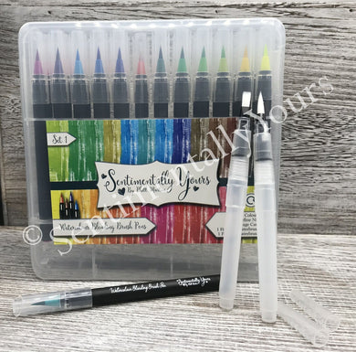 Sentimentally Yours Watercolour Blending Brush Pens - Set 1