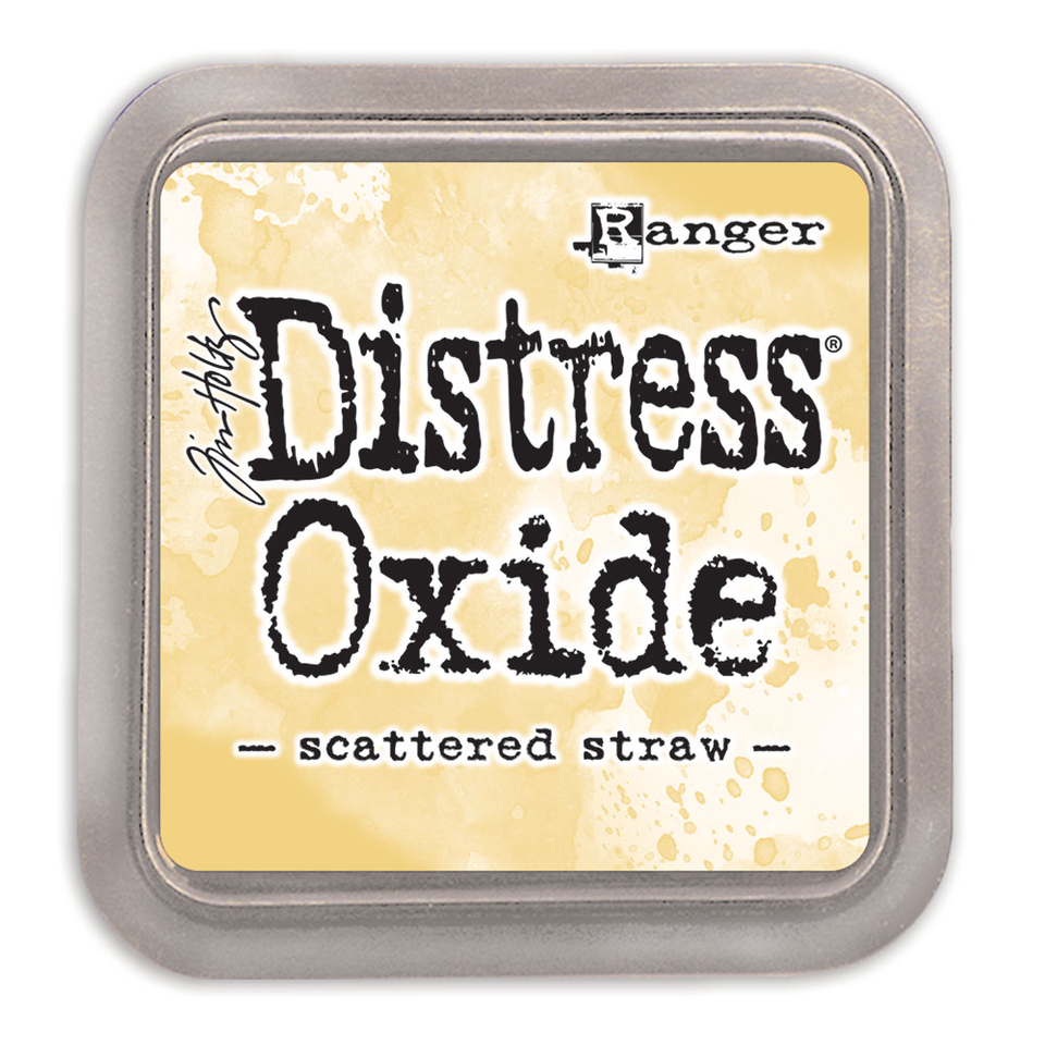 Distress Oxide Ink Pad - Scattered Straw