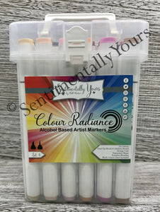 Sentimentally Yours Colour Radiance Alcohol Markers - Set 4