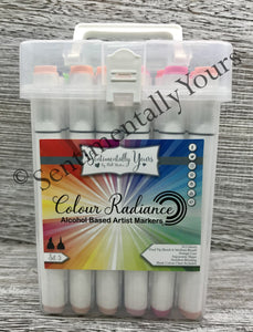 Sentimentally Yours Colour Radiance Alcohol Markers - Set 5