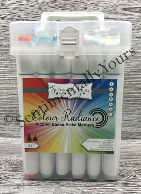 Sentimentally Yours Colour Radiance Alcohol Markers - Set 7