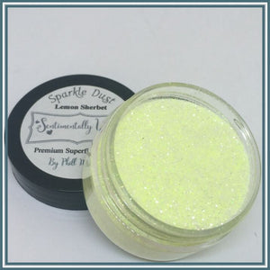 Phill Martin Sentimentally Yours Sparkle Dust - Lemon Sherbet
