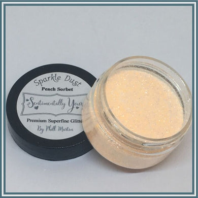 Phill Martin Sentimentally Yours Sparkle Dust - Peach Sorbet