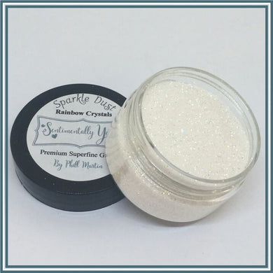 Phill Martin Sentimentally Yours Sparkle Dust - Rainbow Crystals
