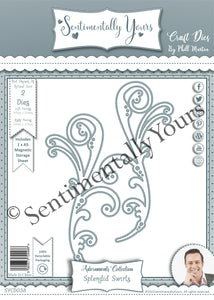 Phill Martin Sentimentally Yours Adornments Collection - Splendid Swirls