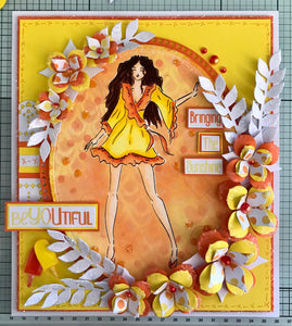 Trudie Howard Sentimentally Yours DL Stamp Set -  Summer Fashionistas : Summery Be YOUtiful