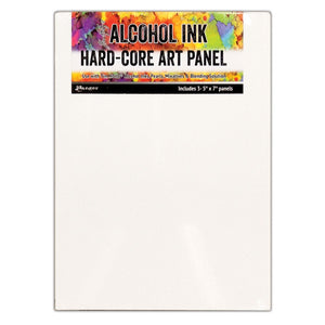"Alcohol Ink Surfaces - Hard Core Art Panels 5""x 7"""