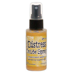 Distress Oxide Spray - Fossilized Amber