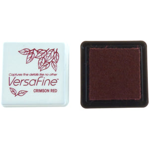Tsukineko Small Versafine Ink Pad - Crimson Red
