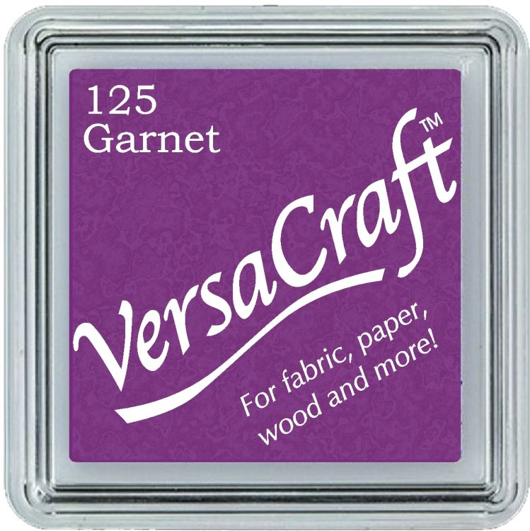 Tsukineko Small VersaCraft Ink Pad - Garnet