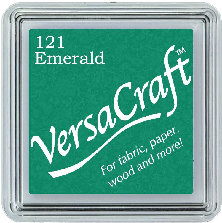 Tsukineko Small VersaCraft Ink Pad - Emerald