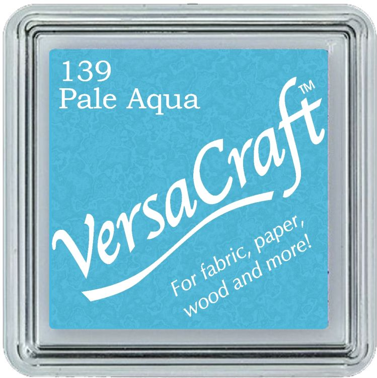 Tsukineko Small VersaCraft Ink Pad - Pale Aqua