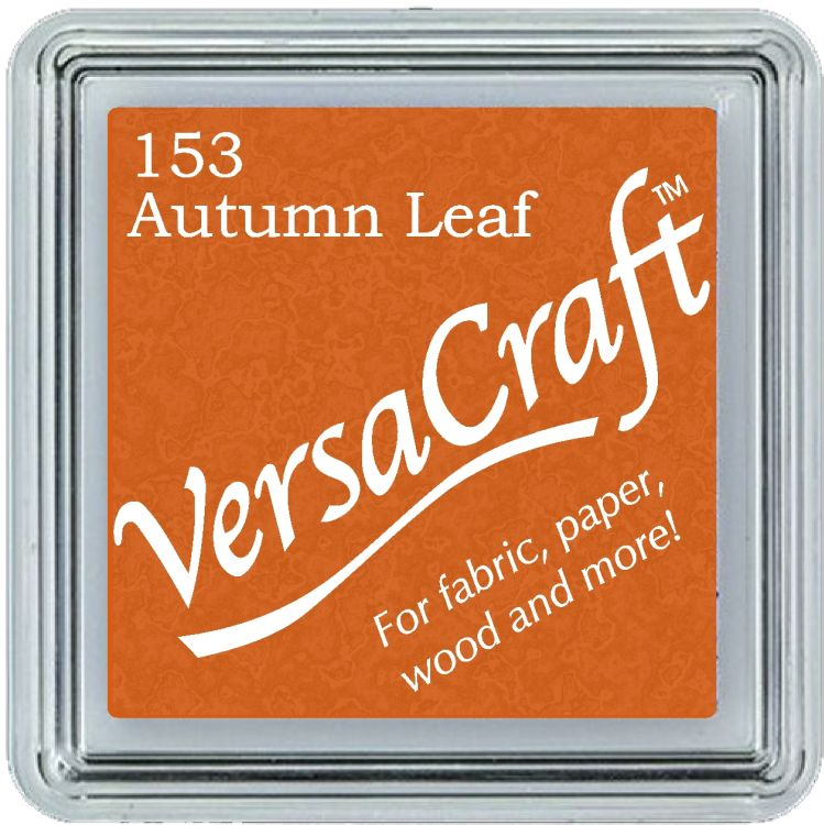 Tsukineko Small VersaCraft Ink Pad - Autumn Leaf