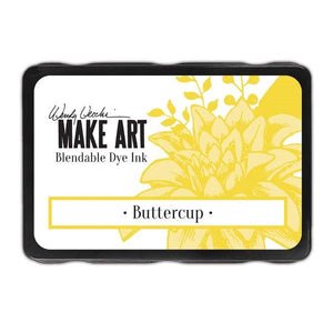 Wendy Vecchi Make Art Dye Ink Pad - Buttercup