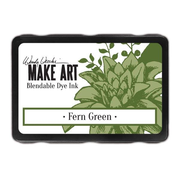 Wendy Vecchi Make Art Dye Ink Pad - Fern Green