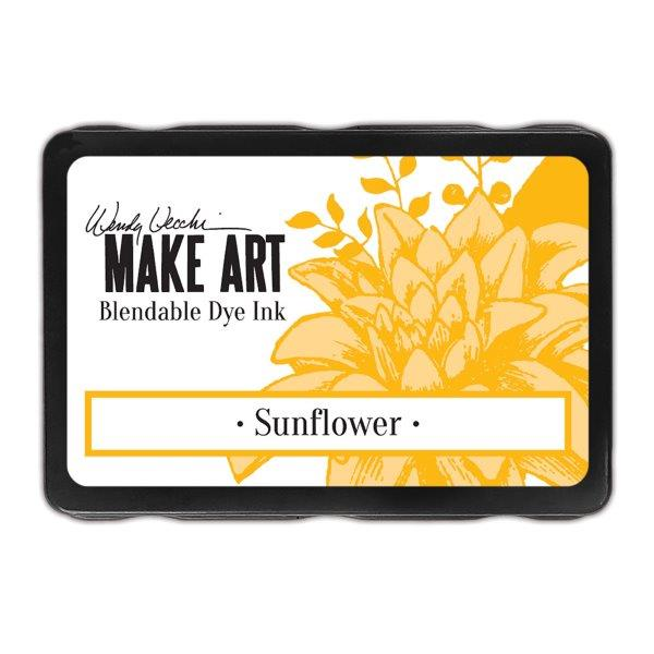 Wendy Vecchi Make Art Dye Ink Pad - Sunflower