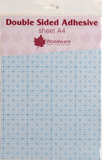 Woodware Double Sided Self Adhesive Sheets