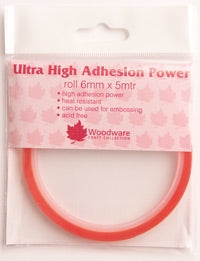 Woodware Ultra High Tack Double Sided Tape - 6mm x 5m