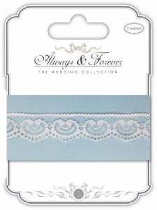 CC Always & Forever - Lace Ribbon : Heart Chain