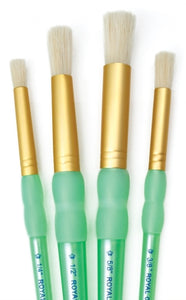 Royal Langnickel 4 Piece Stencil Brush Set