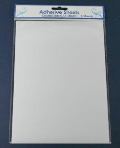 Creative Expressions Double Sided Self Adhesive Sheets