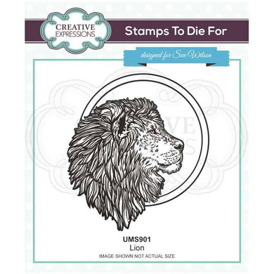Creative Expressions Stamps to Die For - Lion