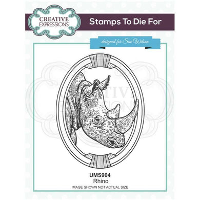 Creative Expressions Stamps to Die For - Rhino