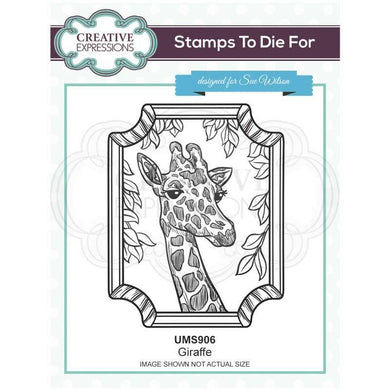 Creative Expressions Stamps to Die For - Giraffe