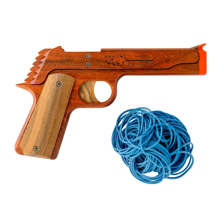 Model 1911 Rubber Band Gun - Elastic Precision