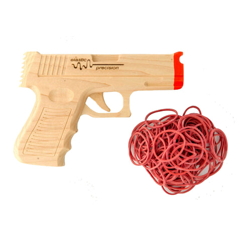 Model 9MM Rubber Band Gun - Elastic Precision