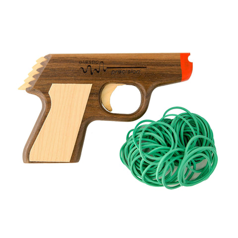 Model PPK Rubber Band Gun - Elastic Precision
