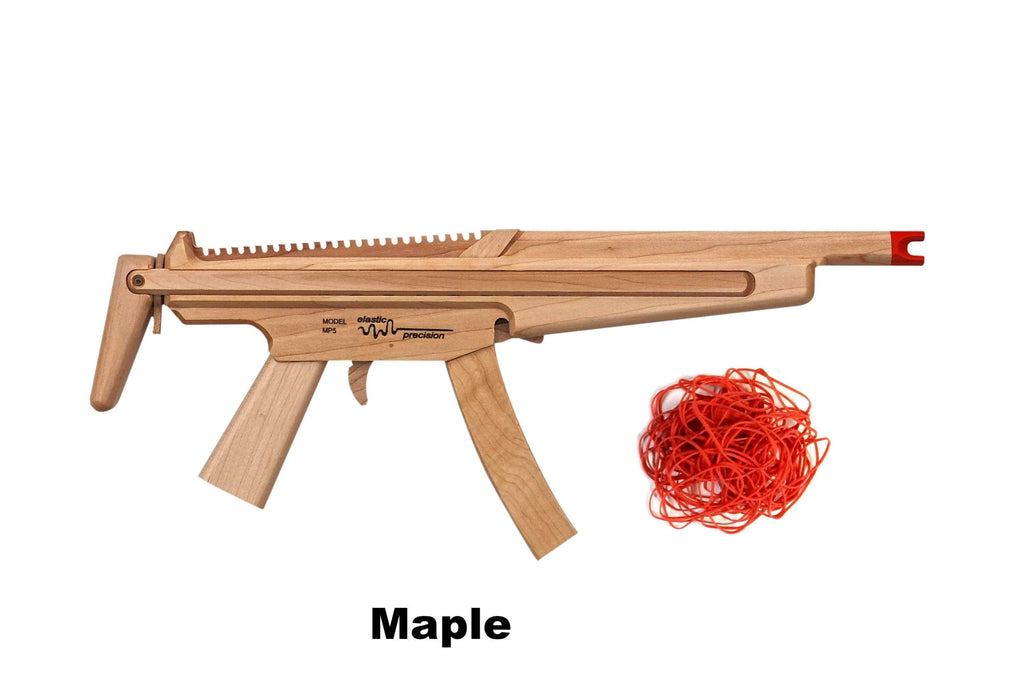 Model Mp5 Rubber Band Machine Gun With Sliding Stock