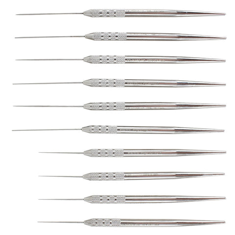 Shop online for the veterinary dental Cislak Holmstrom Single-Ended Straight Plugger & Spreader Set (10 pcs), for sale in stainless steel & Z-SOFT handles.