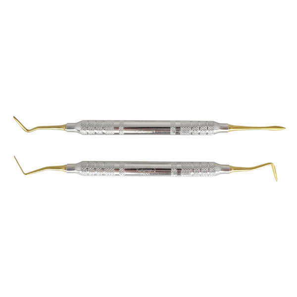 Shop online for the veterinary dental set of Cislak Double-Ended Kurtzman Periotomes, which are crafted from stainless steel & available for sale at Serona.