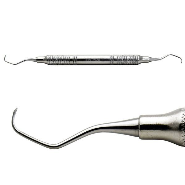 Shop online for the veterinary dental Cislak Gracey 13/14 Curette (regular, mini, and long). Available for sale in stainless steel (XL & CS108) and Z-SOFT.