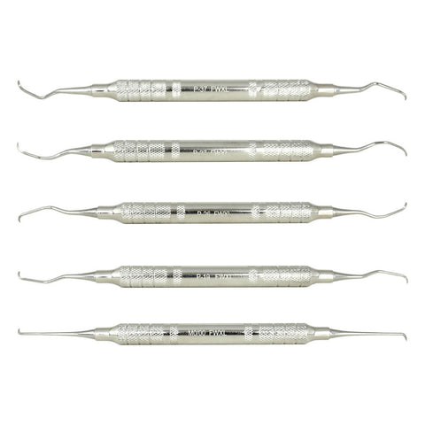 Shop online for the veterinary dental Serona Feline Scaler/Curette Kit (7 pieces). Available for purchase in stainless steel (XL & CS108) as well as Z-SOFT.