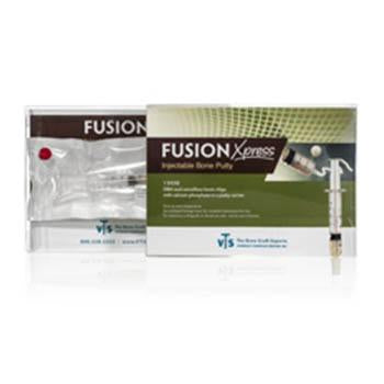 Veterinary dental VTS Fusion Xpress™ - Injectable Bone Putty (0.5, 1, & 2.5cc), which is DBM with mineralized cancellous chips and BCP.